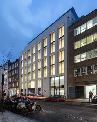 42 Berners Street Property Development