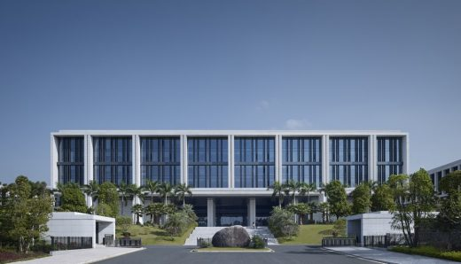 Green campus for China Southern Power Grid Guangzhou Architecture News
