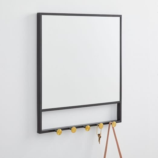 To Hang A Frameless Mirror On Wall, How To Hang A Glass Mirror Without Frame