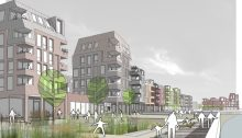 Hull Living with Water Competition winning design by Harper Perry Architects
