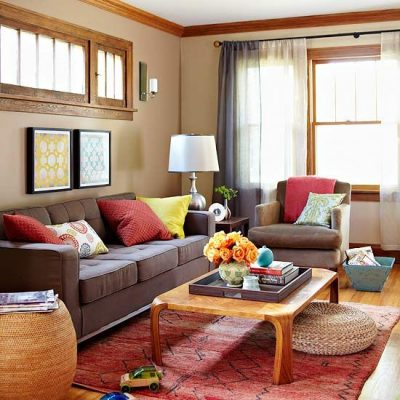 Ideas to Add Color to a Living Room