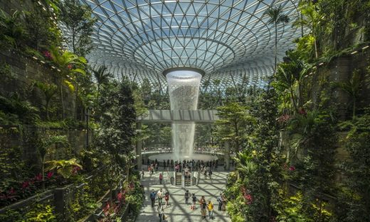 Jewel Changi Airport, Singapore, by Safdie Architects