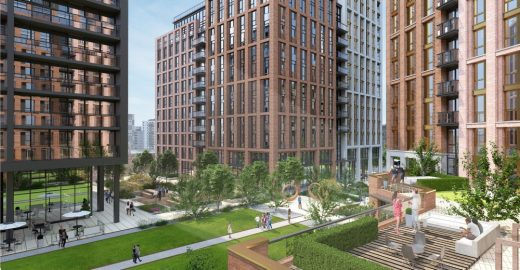 City Village development design by Leeds Architect office