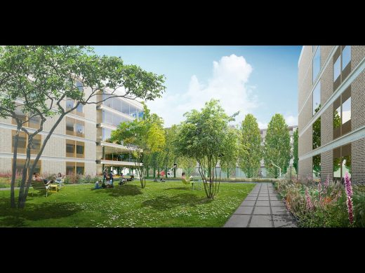 MK:U Masterplan Visions Competition entry Milton Keynes by Hopkins Architects