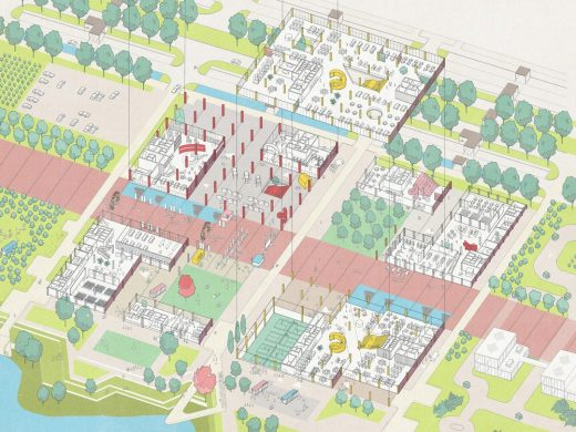 MK:U Masterplan Visions Competition Milton Keynes entry by Hawkins\Brown