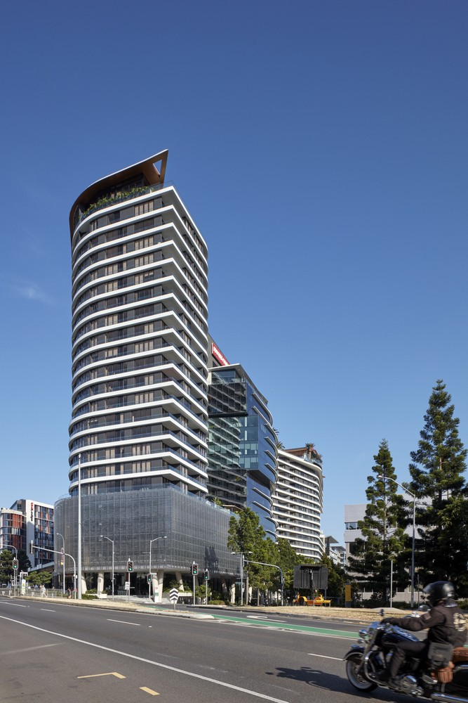 Southpoint Apartments in Brisbane - e-architect