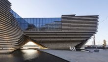 V&A Dundee building by Kengo Kuma & Associates