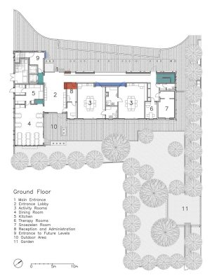 Holon building plan ground floor layout