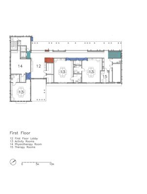 Holon building plan first floor layout