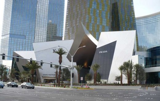 The Crystals Las Vegas Nevada architecture