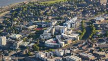 Dundee Architecture News aerial photo