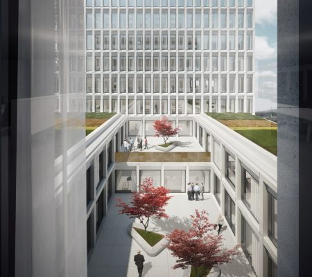 Europaallee 'Site D', Zürich Office and Retail Building Development in Switzerland design by Wiel Arets Architects