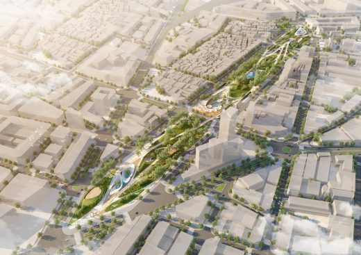 Ho Chi Minh City Central Park Competition design by LAVA