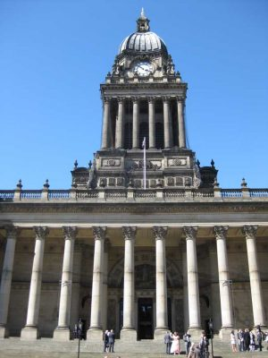 Leeds Architecture Tours - Town Hall building facade