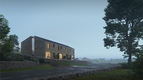 Lakes and Dales RIBA Architecture Competition - Horton-in-Ribblesdale in Craven design by McMullan Studios