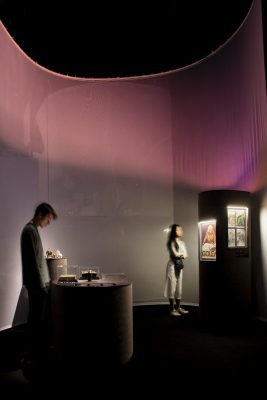 Mist, Mirror, and Megaliths Exhibition Design by Tonkin Liu