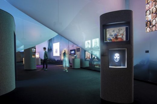 AI: More than Human Mist, Mirror, and Megaliths Exhibition