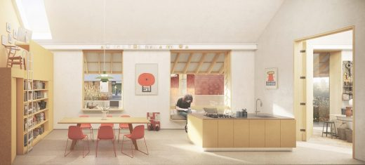 Lakes and Dales RIBA Architecture Competition - Burneside site in the South Lakes design by Outpost