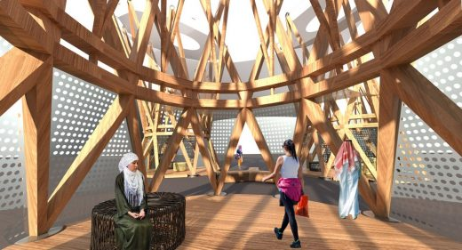 Timber Pavilion Dubai Design Week 2019