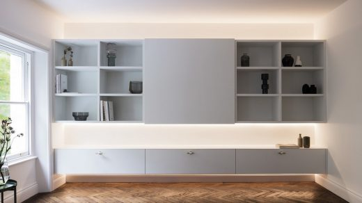 Westbourne Gardens Apartment Notting Hill by Brosh Architects