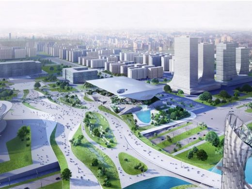 Xingtai Science and Technology Museum in the Hebei Province design by COOP HIMMELB(L)AU Architects