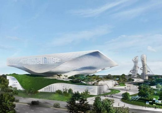 Xingtai Science and Technology Museum in the Hebei Province