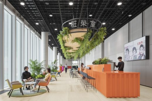 Seoul Cosmetics Group Offices South Korea design by Kinzo
