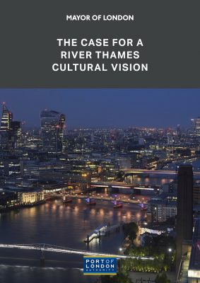 The Case for a River Thames Cultural Vision London poster