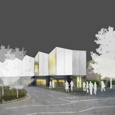 University of Bath Centre for the Arts building design