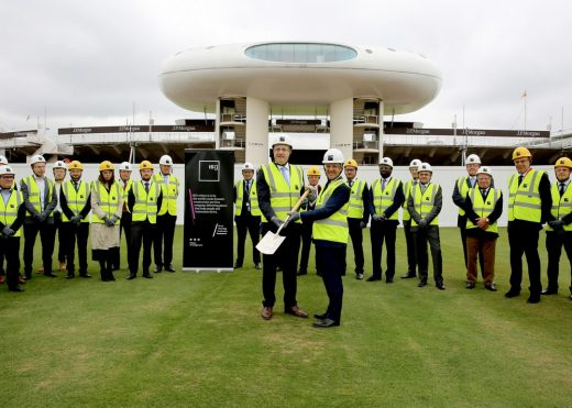 Compton and Edrich Stands Redevelopment at Lord's Cricket Ground groundbreaking