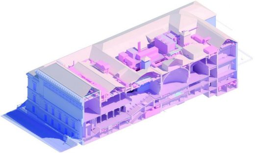Corcoran School of the Arts & Design at GW in Washington, D.C. BIM model