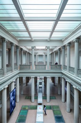 Beaux-Arts Flagg Building at GW, District of Columbia, interior atrium
