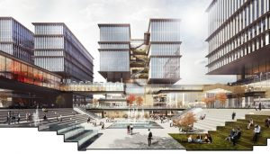 Gallium Valley Science Park Hangzhou building by LWK & Partners Architects
