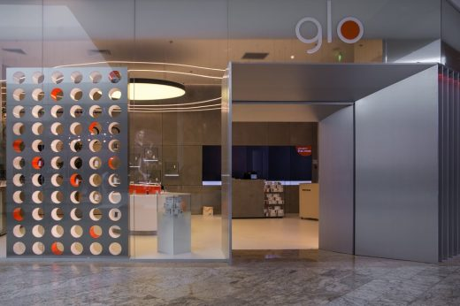 Glo Bucharest interior design by re-act now