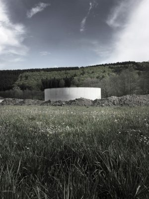 Green energy facility - Water and biomass reservior Christoph Hesse Architects