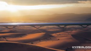 HyperloopTT Sustainable Transportation Infrastructure by MAD