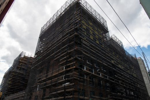 La Central South Bronx Residential Complex construction