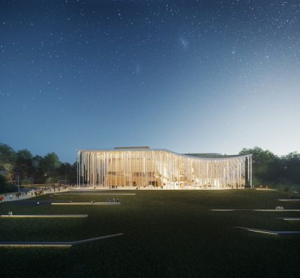 National Concert Hall Competition in Vilnius, Lithuania