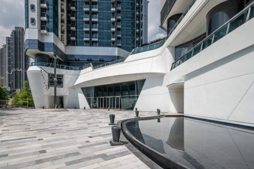 The Pavilia Bay Hong Kong building by LWK & Partners