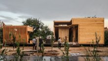 Pear Orchard Cabins Competition, Jiangsu, Wedge in Motion