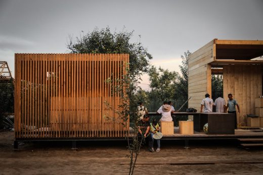 Pear Orchard Cabins Competition, Jiangsu