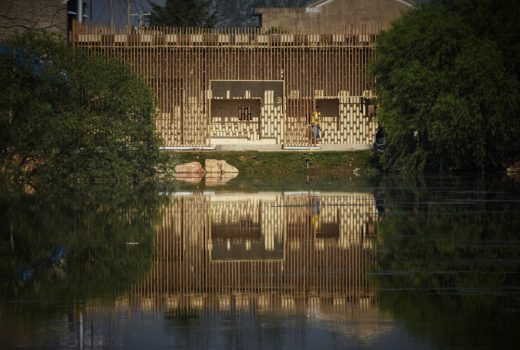 Encounters-A pear tea house on the water bank by Xi`an University of Architecture and Technology × Politecnico di Milano