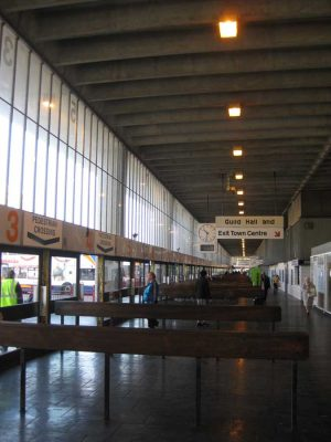 Preston Bus Station building interior