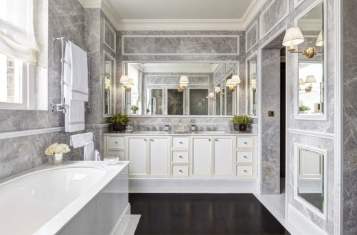 Chester Terrace House in Regents Park bathroom