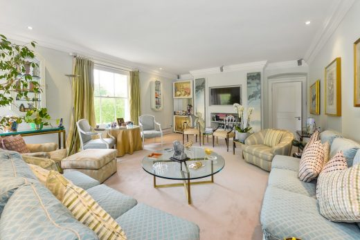 Regents Park Cumberland Terrace apartment interior