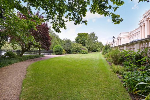 Regents Park London Cumberland Terrace property