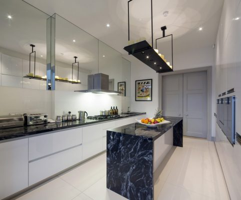 Hanover Terrace London House Regents Park property kitchen
