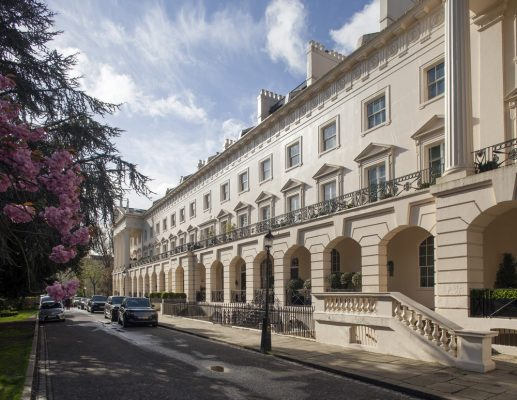 Regents Park London Hanover Terrace property