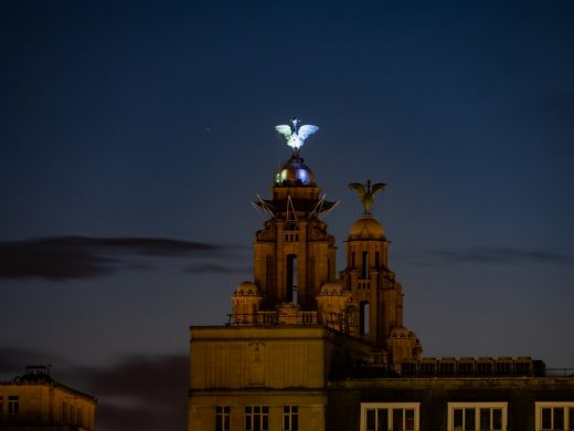 The Royal Liver Building Lighting
