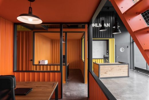 Shipping Containers Office Gdansk